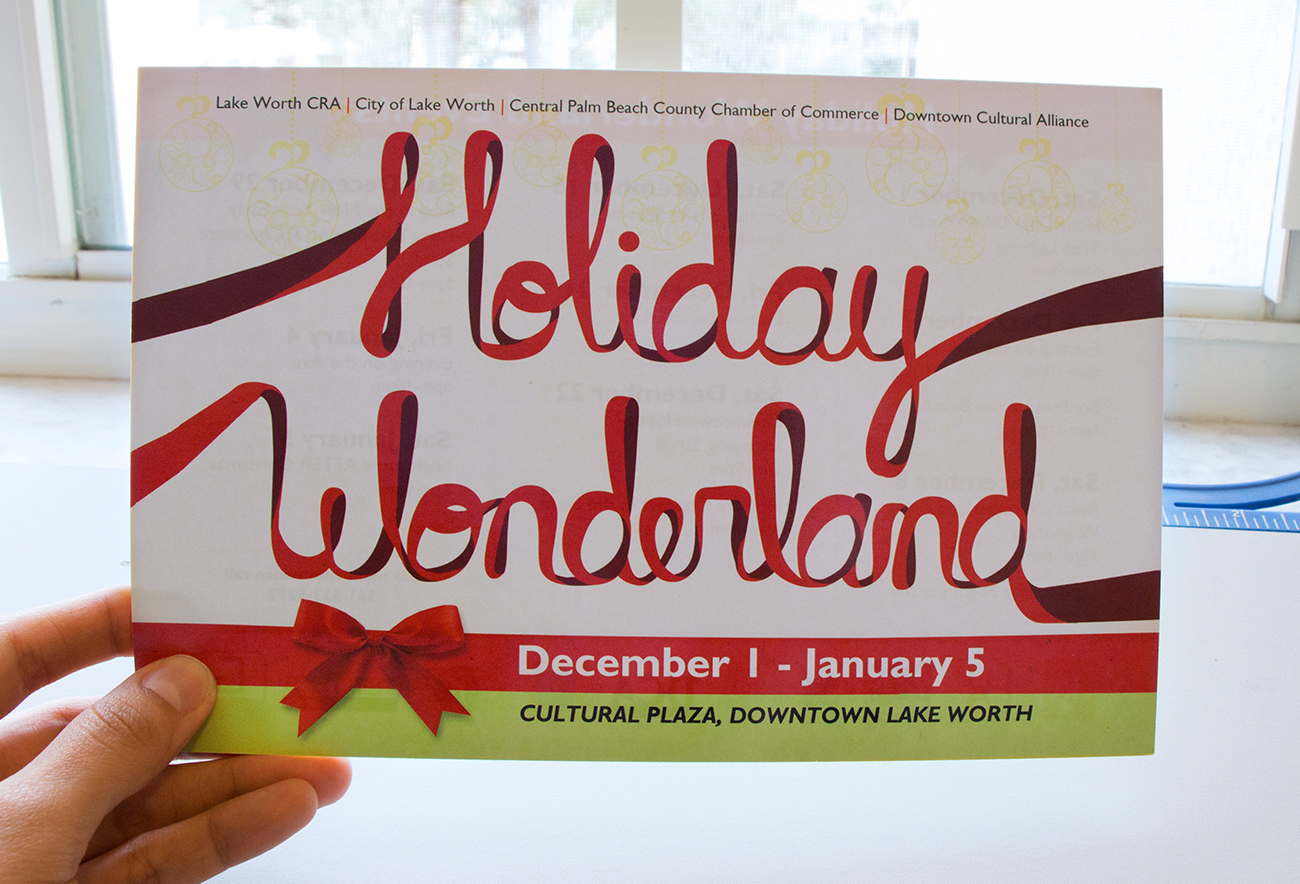 Holiday Wonderland Postcard