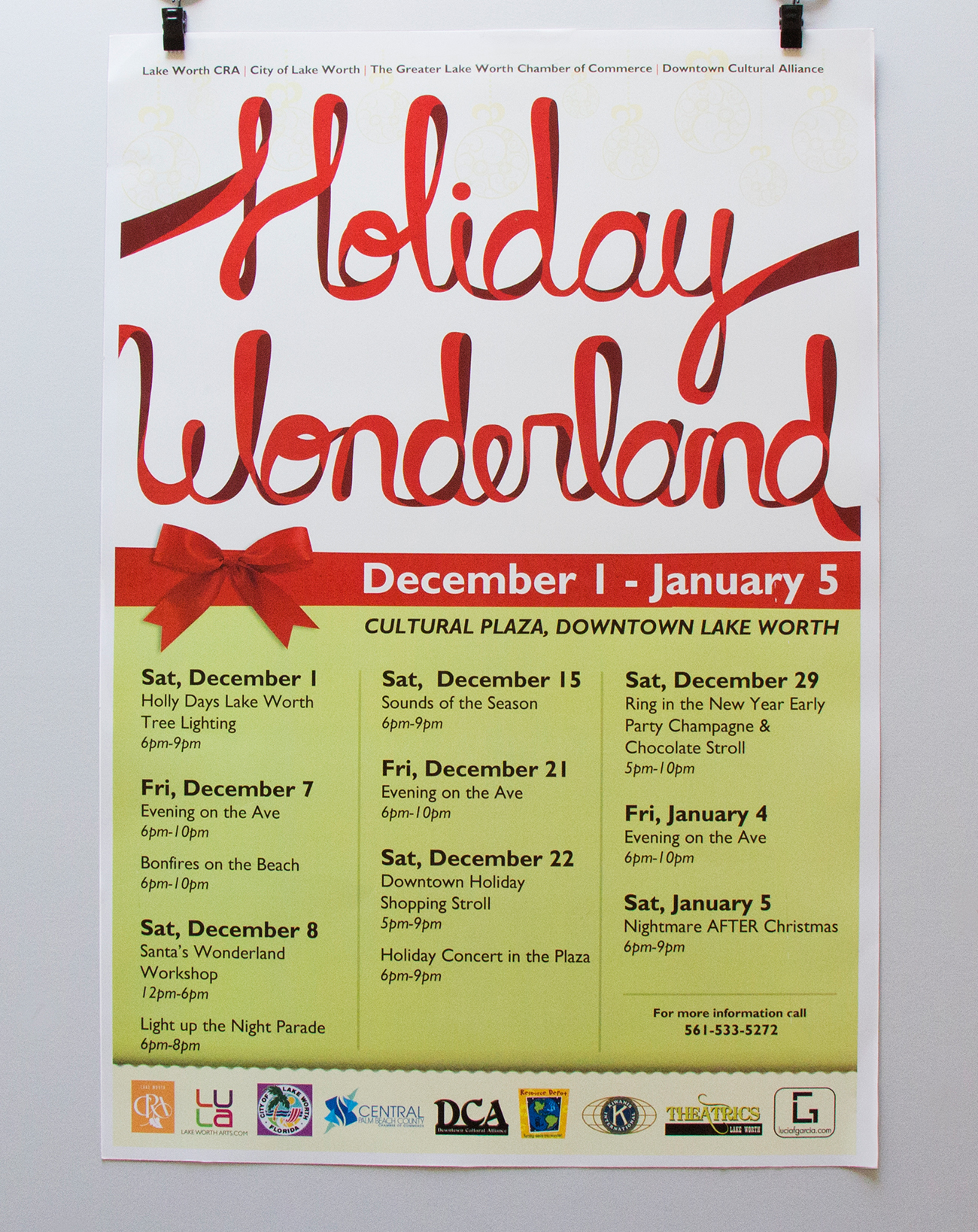 Holiday Wonderland Poster