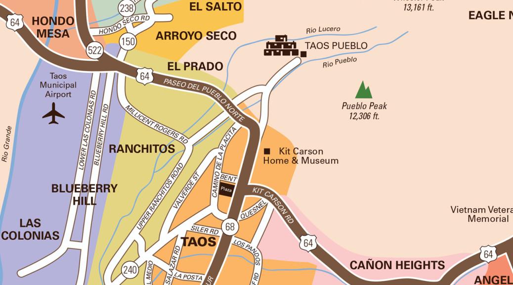 taos map