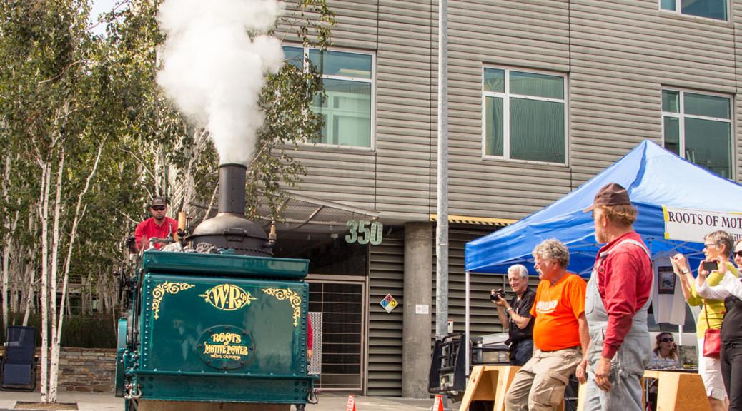 2014, San Francisco Center for the Book, Roadwork, Steamroller